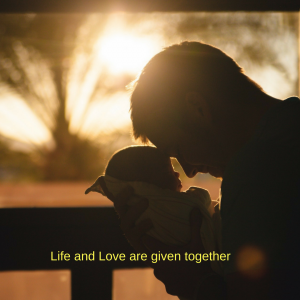 Life and love are gifts given together (2)