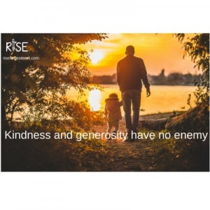 Kindness and generosity have no enemy (1)